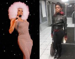 Between drag queen RuPaul and  actual trans woman Payge Clay who was presumably murdered last April for being trans, who looks more like the people Burchill described? Images from here and here.