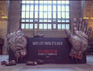The Walking Dead Ad