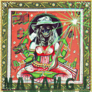 Official Matangi album cover art, from here.