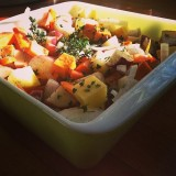 Thirsty Thursday: Roasted Root Veggies with Thyme