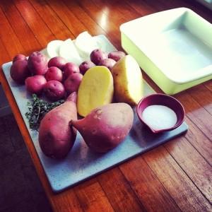 Root Veggies Ingredients